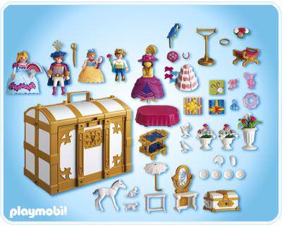Playmobil 4249 - My Take Along Princess Fantasy Chest - Back