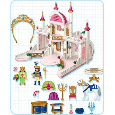 Playmobil 4250 - Magic Castle with Princess Crown - Back