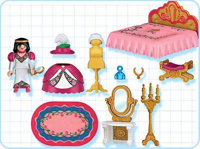 Playmobil 4253 - Royal Bedroom - Back