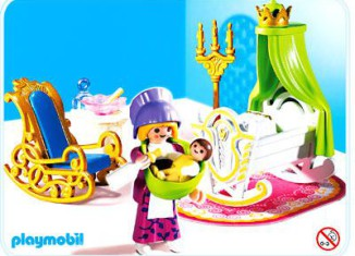 Playmobil - 4254 - Amme mit Babywiege
