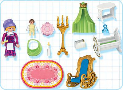 Playmobil 4254 - Nursery - Back