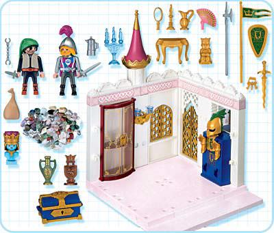 Playmobil 4255 - Royal Treasury - Back