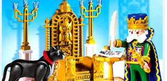 Playmobil - 4256 - King with Throne