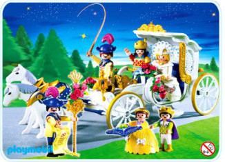 Playmobil - 4258 - Royal Carriage