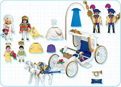 Playmobil 4258 - Royal Carriage - Back