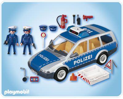 Playmobil 4259 - Patrol Car - Back