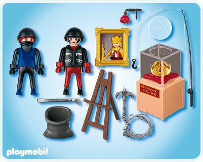 Playmobil 4265 - Jewel Thieves - Back