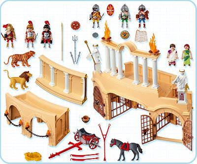 Playmobil 4270 - Arena - Back