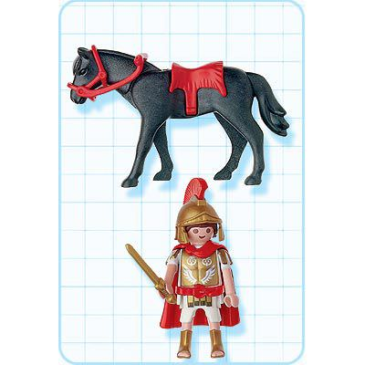 Playmobil 4272 - Warrior with Horse - Back