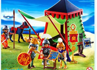 Playmobil - 4273 - Commander's Tent