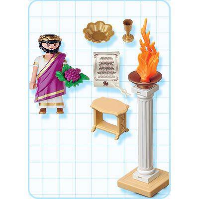 Playmobil 4277 - Roman emperor - Back
