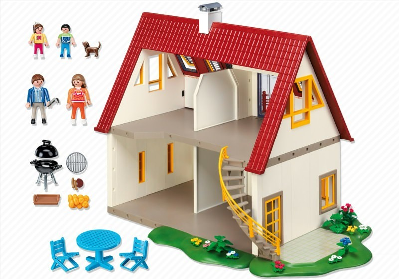 Playmobil set 4279 suburban house klickypedia for 4279 playmobil