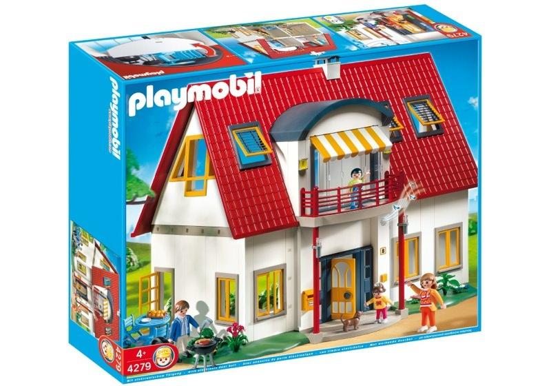Emejing playmobil maison moderne cuisine photos seiunkel for Agrandissement maison moderne playmobil