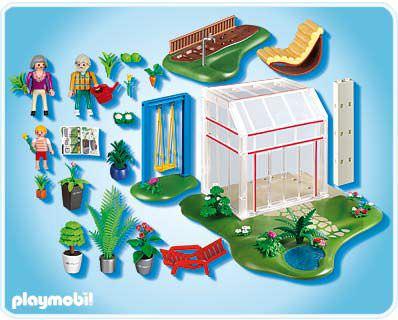 Playmobil 4281 - Conservatory - Back