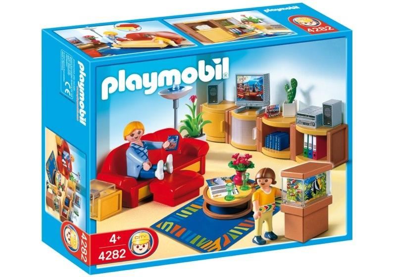 Playmobil 4282 - Living Room - Box