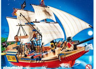 Playmobil - 4290 - Large Pirate Ship