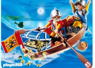 Playmobil - 4295 - Treasure shipment with rowboat