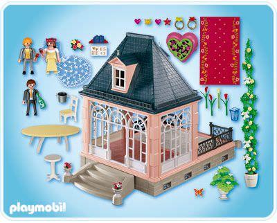 Playmobil 4297 - Wedding Pavilion with Jewelry Box - Back