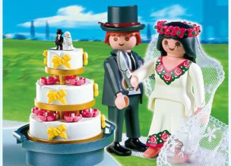 Playmobil - 4298 - Bridal Pair and Wedding Cake