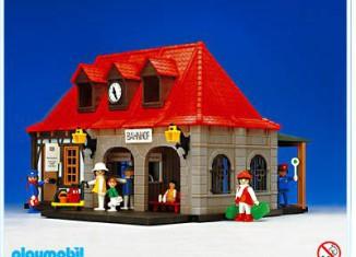 Playmobil - 4300v1 - Main Station historic house