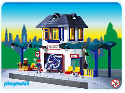 Playmobil Set 4302 Main Station Modern Klickypedia