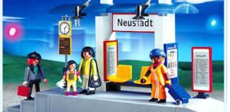 Playmobil - 4304 - Train Platform