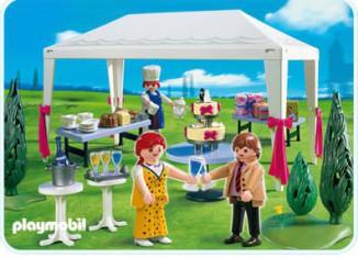 Playmobil - 4308 - Wedding Guests at Reception
