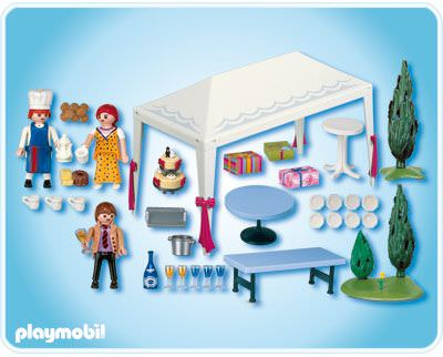 playmobil set: 4308 - wedding guests at reception