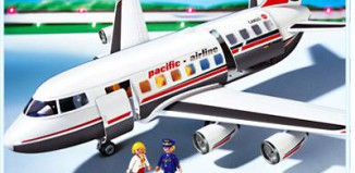 Playmobil - 4310 - Avion Grand Passagers & Cargo