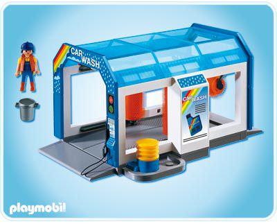 Playmobil 4312 - Autowaschanlage - Zurück