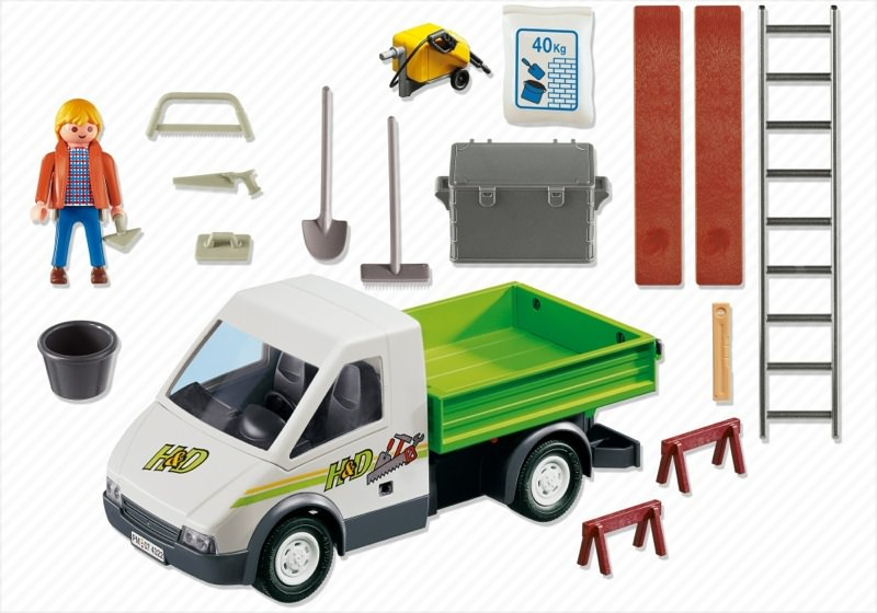 Playmobil 4322 - Pick-Up Truck - Back