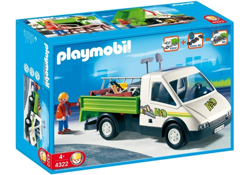 Playmobil 4322 - Pick-Up Truck - Box