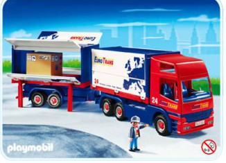 Playmobil - 4323 - Truck and Trailer