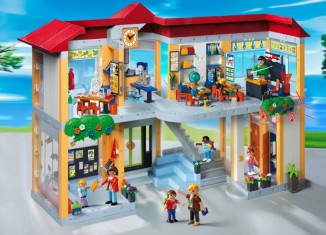 Playmobil - 4324 - Furnished School Building