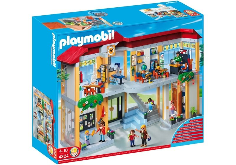 Playmobil 4324 - Furnished School Building - Box