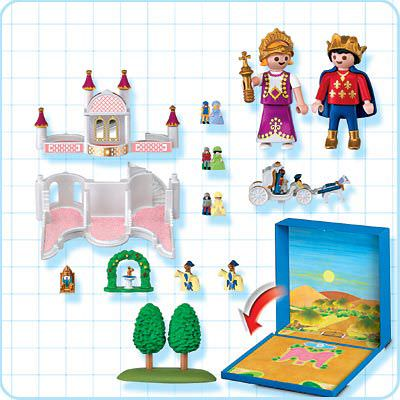 Playmobil 4330 - Fairy Tale Castle Micro World - Back