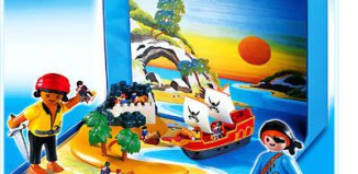 Playmobil - 4331 - Pirates Micro World
