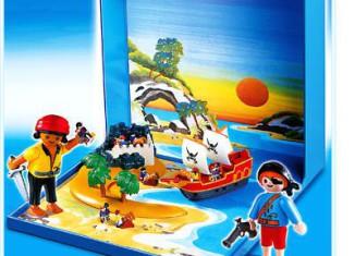 Playmobil - 4331 - Pirates Micro World