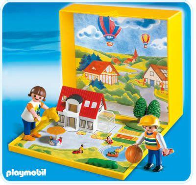Playmobil set 4335 microwelt einfamilienhaus klickypedia for Micro playmobil
