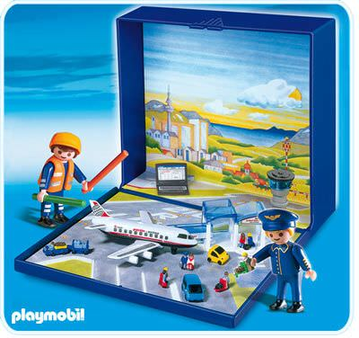 Playmobil set 4336 airport micro world klickypedia for Chambre airport