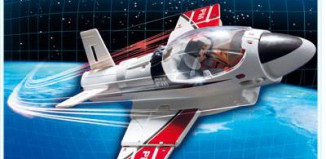 Playmobil - 4342 - Carry Along Jet