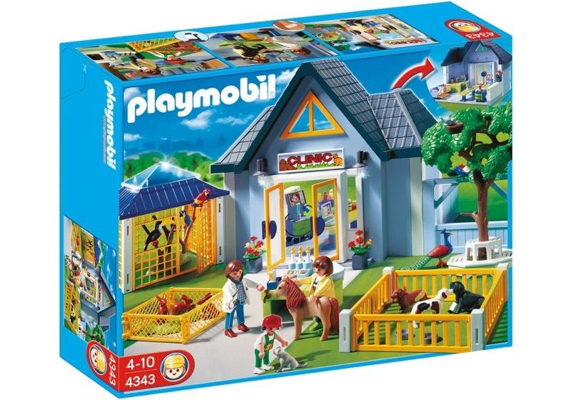 Playmobil 4343 - Animal Clinic - Box