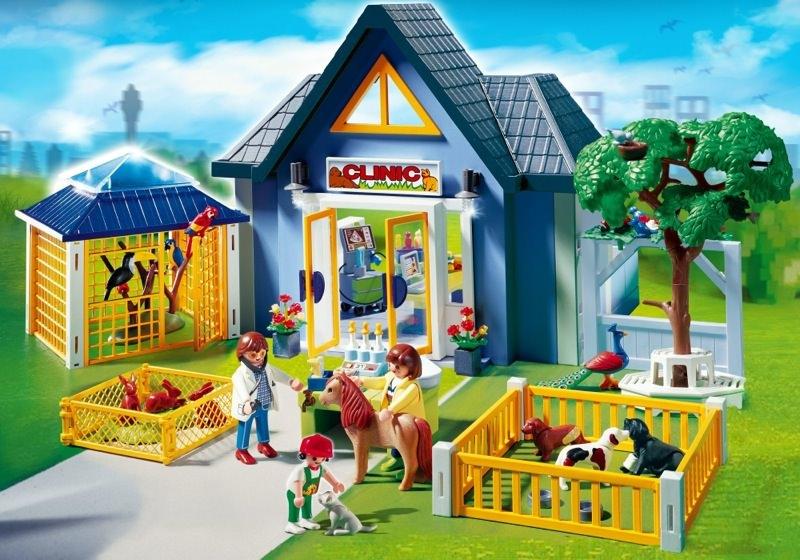 Playmobil Set 4343 Animal Clinic Klickypedia