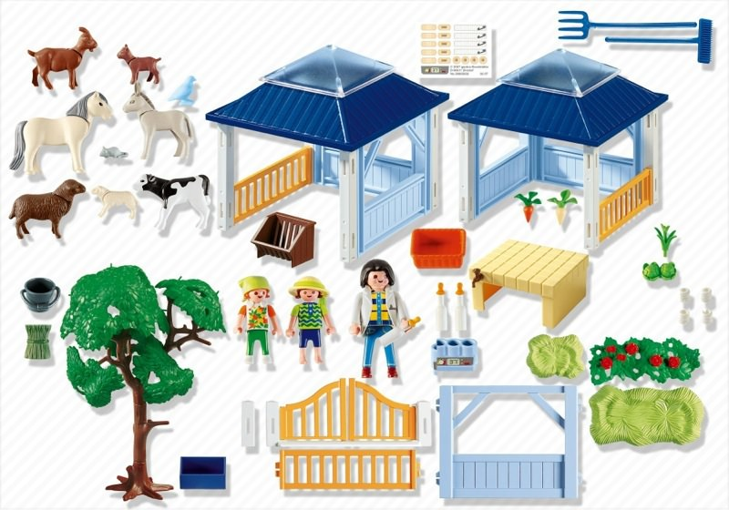 Playmobil 4344 - Animal Nursery - Back
