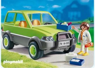 Playmobil - 4345 - Vet with Car