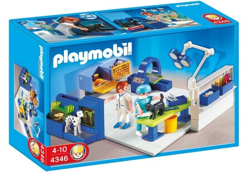 Playmobil 4346 - Vet Operating Room - Box