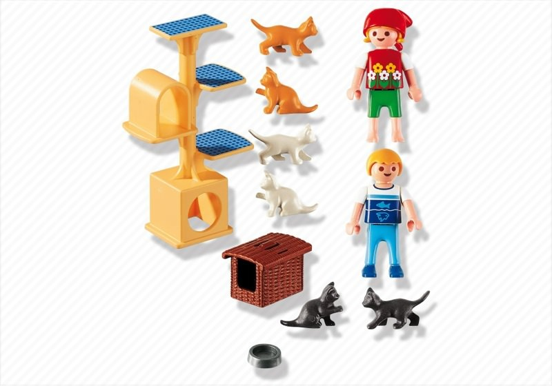 Playmobil 4347 - Cat Scratch Tree - Back