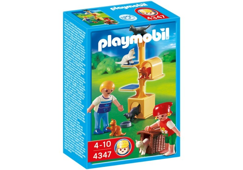 Playmobil 4347 - Cat Scratch Tree - Box