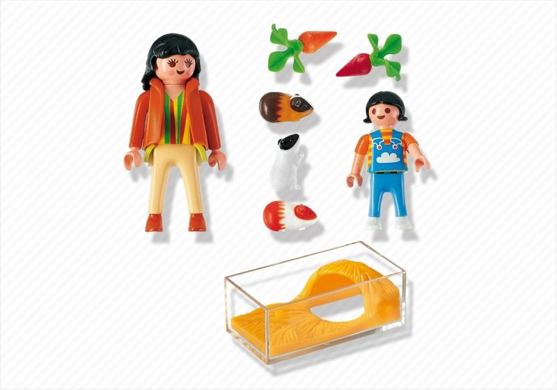 Playmobil 4348 - Guinea Pig Pen - Back