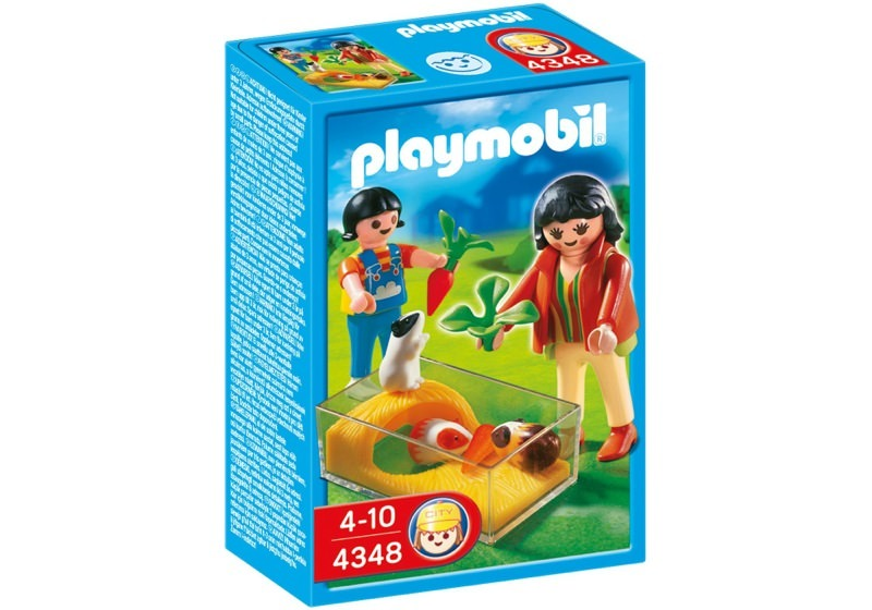 Playmobil 4348 - Guinea Pig Pen - Box